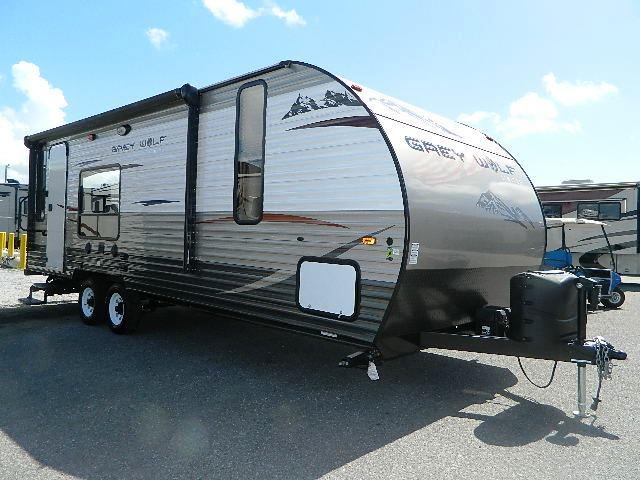 Used 2015 Forest River Grey Wolf 25RL Travel Trailer For Sale
