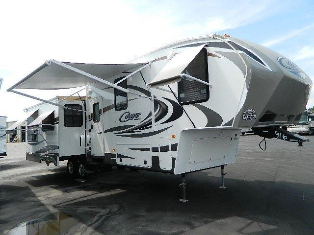 Used 2013 Keystone Cougar 331MKS Fifth Wheel For Sale