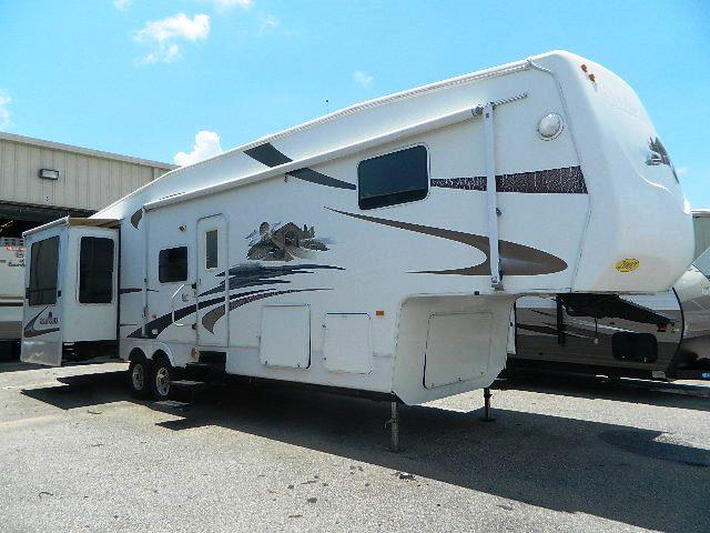 Used 2007 Forest River Cedar Creek 37RDQS Fifth Wheel For Sale