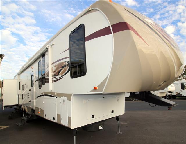 Used 2013 Forest River Sierra 365SAQ Fifth Wheel For Sale