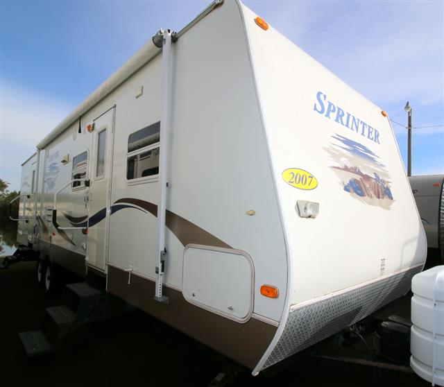 Used 2007 Keystone Sprinter 314BHDS Travel Trailer For Sale