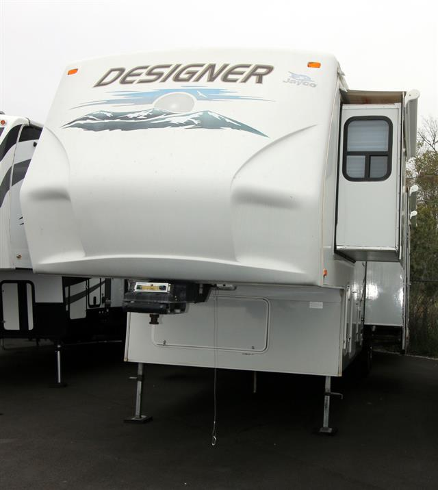 Used 2008 Jayco Designer 34RLDS Fifth Wheel For Sale