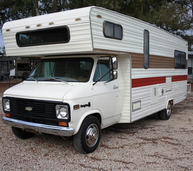 Camping world of tallahassee blog used 1977 western for Used class c motor homes