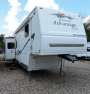 Used 2005 Fleetwood Wilderness Advantage M-345RLTS Fifth Wheel For Sale