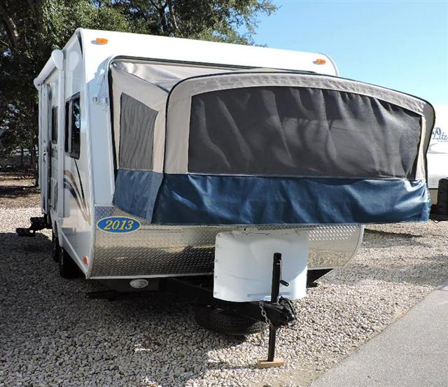 Used 2013 Heartland North Trail 18FX Hybrid Travel Trailer For Sale