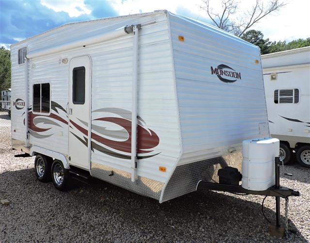 Used 2010 MVP MONSOON 16CK Travel Trailer Toyhauler For Sale