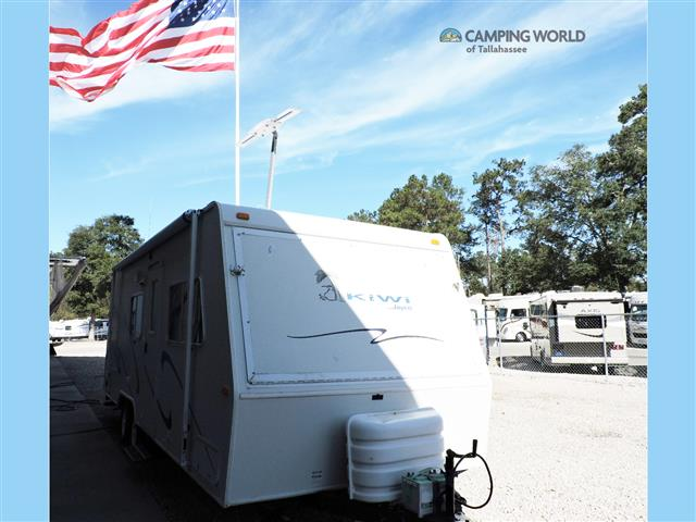 Used 2003 Jayco Kiwi 23D Hybrid Travel Trailer For Sale