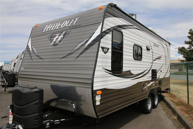 New 2016 Keystone Hideout 19FLBWE Travel Trailer For Sale