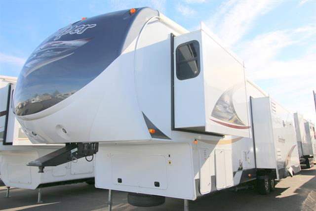 Used 2012 Forest River Sandpiper 330RL Fifth Wheel For Sale