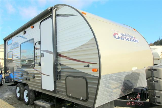 Used 2015 Forest River Cascade 17BH Travel Trailer For Sale