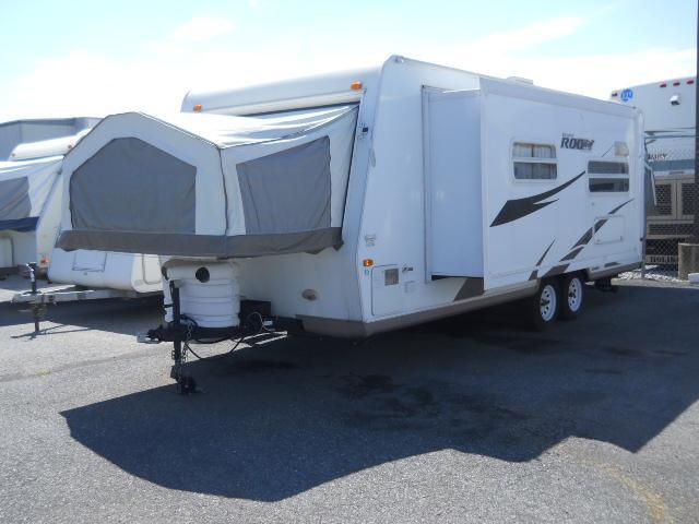 used2008 forest river rockwood hybrid travel trailer for sale. Black Bedroom Furniture Sets. Home Design Ideas
