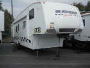 Used 2010 Keystone Cougar 320SRX Fifth Wheel Toyhauler For Sale