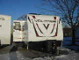 Used 2013 Dutchmen VOLTAGE V300 Travel Trailer Toyhauler For Sale