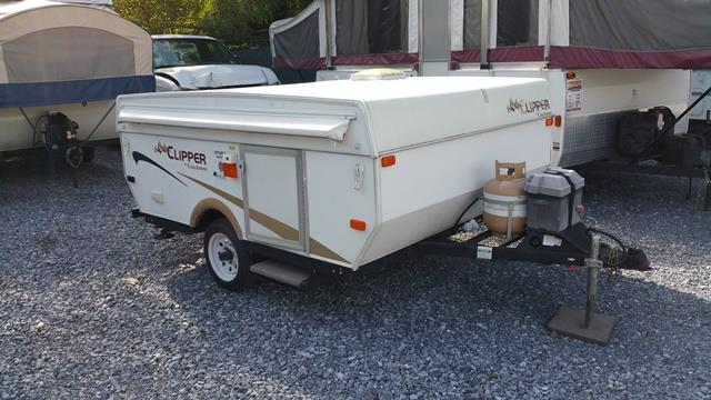 Used 2013 Coachmen Clipper 806 Pop Up For Sale