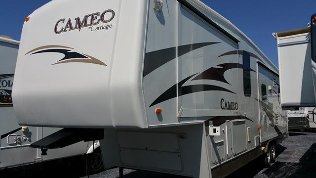 Used 2008 Carriage Cameo 37RE3 Fifth Wheel For Sale