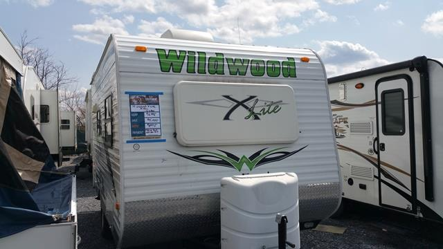 Used 2010 Forest River Wildwood 14FDXL Travel Trailer For Sale
