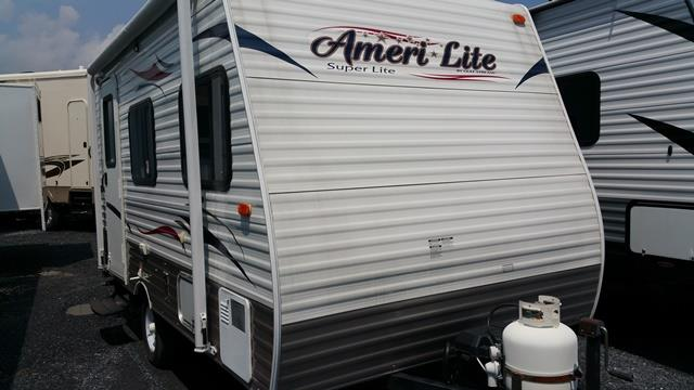 Used 2013 Gulfstream Amerilite 14RBC Travel Trailer For Sale