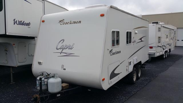 Used 2006 Coachmen Capri 210DB Travel Trailer For Sale