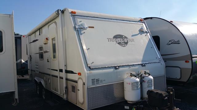 Used 2007 Starcraft Travel Star 21SO Hybrid Travel Trailer For Sale