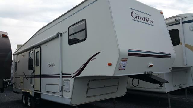 Used 2000 Thor Citation 29.5P Fifth Wheel For Sale