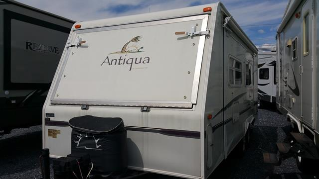Used 2005 Starcraft Antigua 215 SSO Hybrid Travel Trailer For Sale
