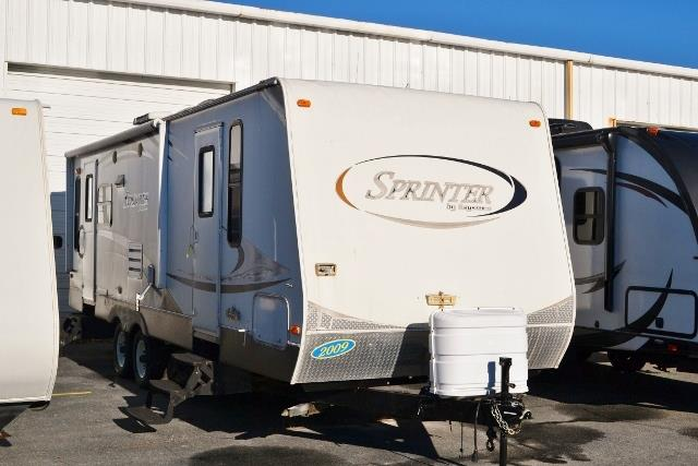 Used 2009 Keystone Sprinter 272RLS Travel Trailer For Sale
