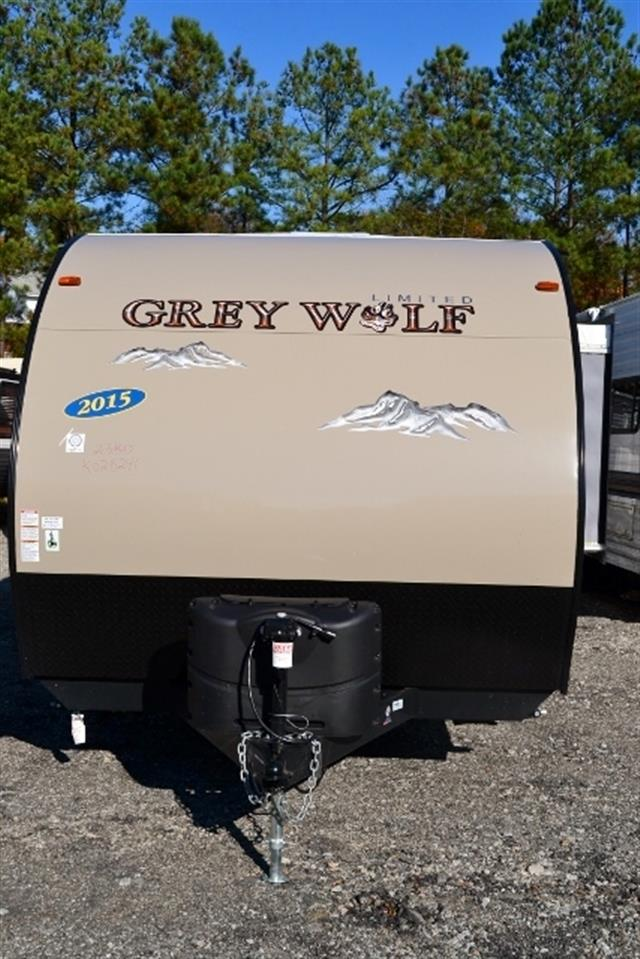 New 2015 Forest River Grey Wolf Travel Trailers For Sale