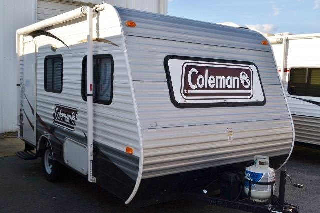 Used 2013 Coleman Coleman 14FD Travel Trailer For Sale