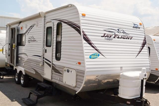 Used 2012 Jayco Jay Flight M25RK Travel Trailer For Sale