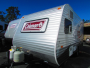 Used 2014 Coleman EXPEDITION LT 15BH Travel Trailer For Sale