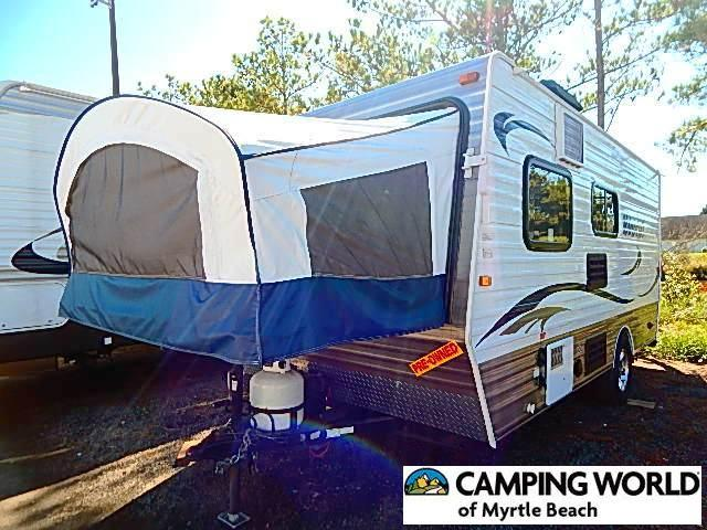 Used 2013 Skyline Bob Cat 173B Travel Trailer For Sale