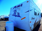 Used 2008 Palomino Puma 20QB Travel Trailer For Sale