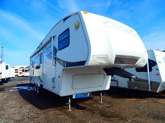 Used 2007 Keystone Cougar 290RKS Fifth Wheel For Sale