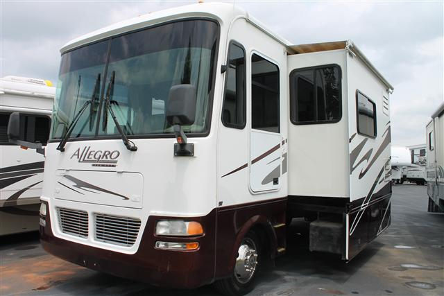 Buy a Used Tiffin Allegro in Spartanburg, SC.