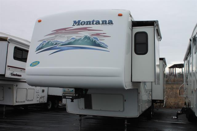 Used 2001 Keystone Montana 3670RL Fifth Wheel For Sale