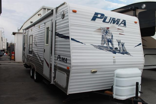 Used 2008 Forest River Puma 25RS Travel Trailer For Sale