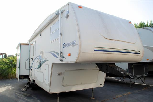 Used 2002 Keystone Cougar 279EFS Fifth Wheel For Sale