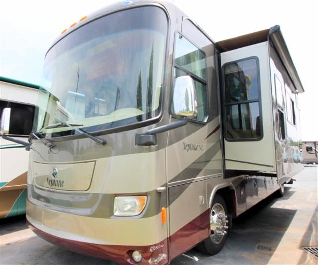 Used 2008 Holiday Rambler Neptune 37PDQ Class A - Diesel For Sale