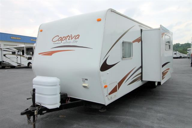 Used 2007 Coachmen Captiva Ultra Lite 27BH Travel Trailer For Sale
