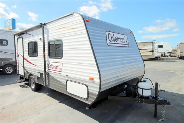 Used 2015 Coleman Coleman 16FB Travel Trailer For Sale