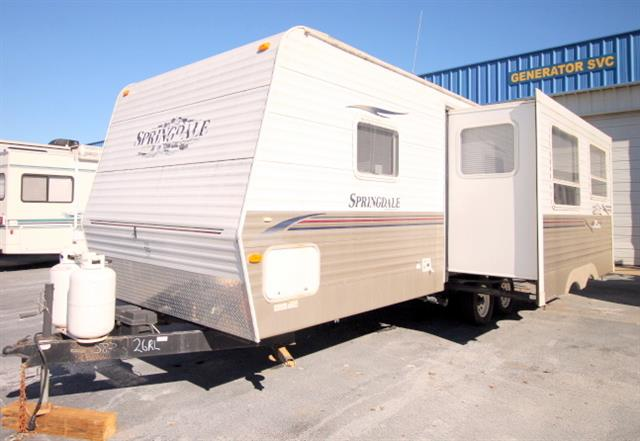 Used 2007 Keystone Springdale M-266RELLGL Travel Trailer For Sale
