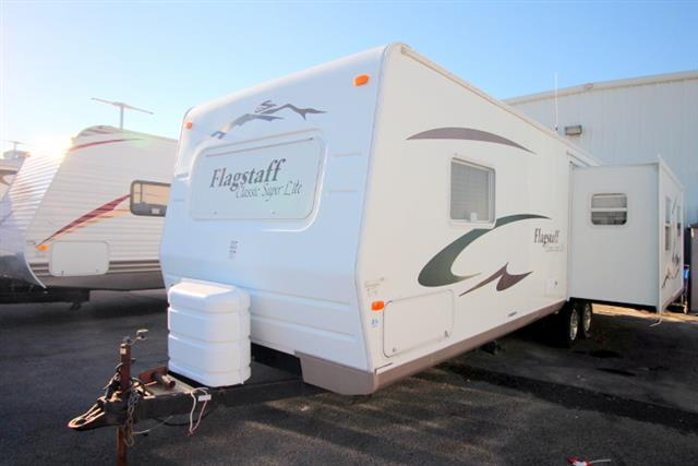 Used 2007 Forest River Flagstaff M-831RLSS Travel Trailer For Sale