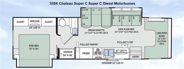 2015 THOR MOTOR COACH Chateau