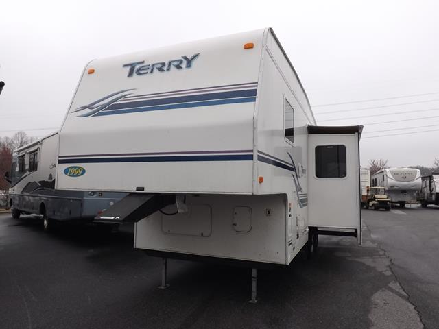Used 1999 Fleetwood Terry Ex 27.5J Fifth Wheel For Sale