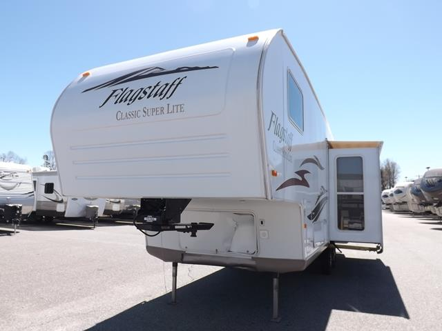 Used 2007 Forest River Flagstaff 8528GTSS Fifth Wheel For Sale
