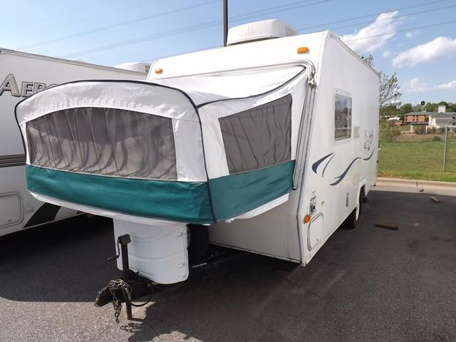 Used 2004 Keystone Cabana 1701 Hybrid Travel Trailer For Sale
