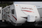 Used 2011 Shadow Cruiser Fun Finder XT275 Travel Trailer Toyhauler For Sale