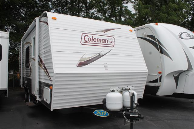 Used 2012 Dutchmen Coleman 198DB Travel Trailer For Sale