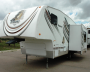 Used 2009 Fleetwood Prowler 230RKS Fifth Wheel For Sale
