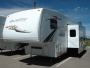 Used 2007 Forest River Wildwood 376 SRV Fifth Wheel Toyhauler For Sale